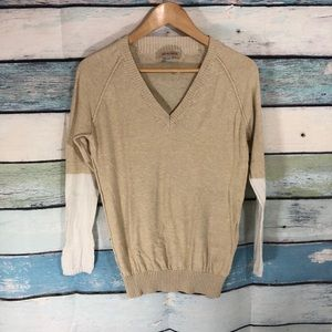 See by Chloe Oatmeal Colour Block Sweater